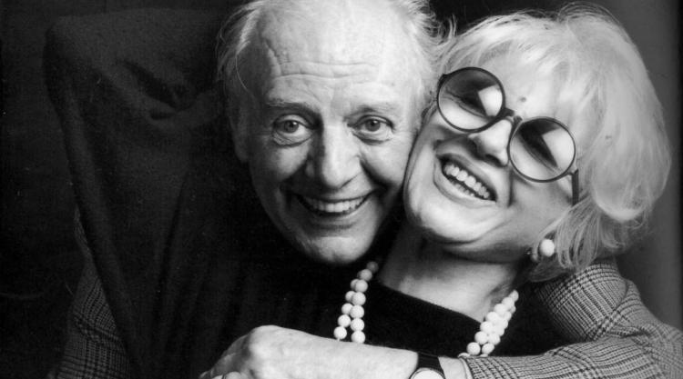 photograph of Dario Fo and Franca Rame