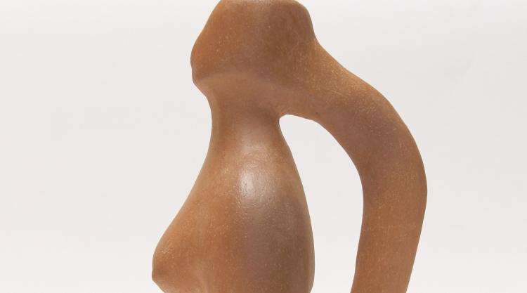 detail of ceramic work by Richard Laurenzi