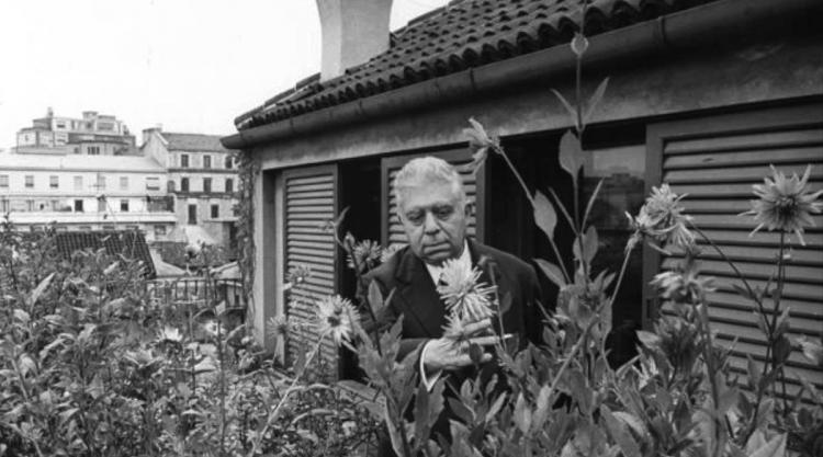 photograph of Eugenio Montale