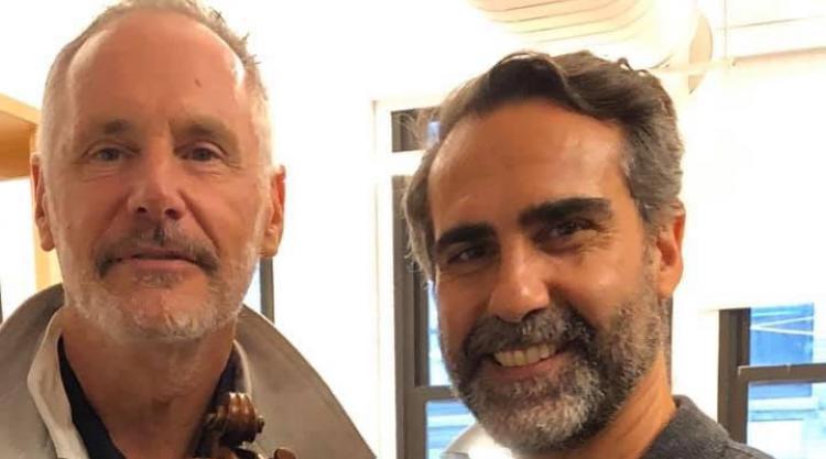 Mark Campbell and Roberto Scarcella Perino