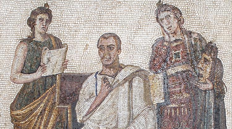 Virgil mosaic