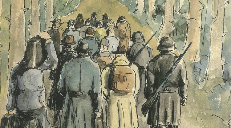 detail from drawing