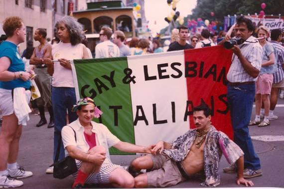 gay italian american photo