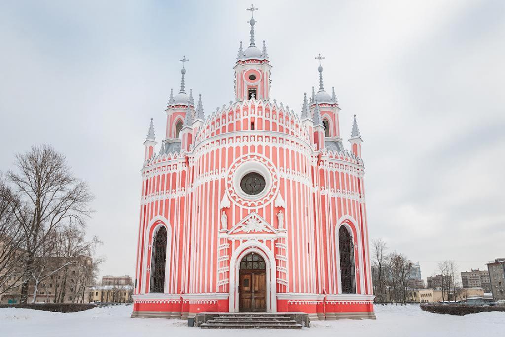 Chesme Church, St Petersburg, Russia, 1780 Source: OkoGuide.com