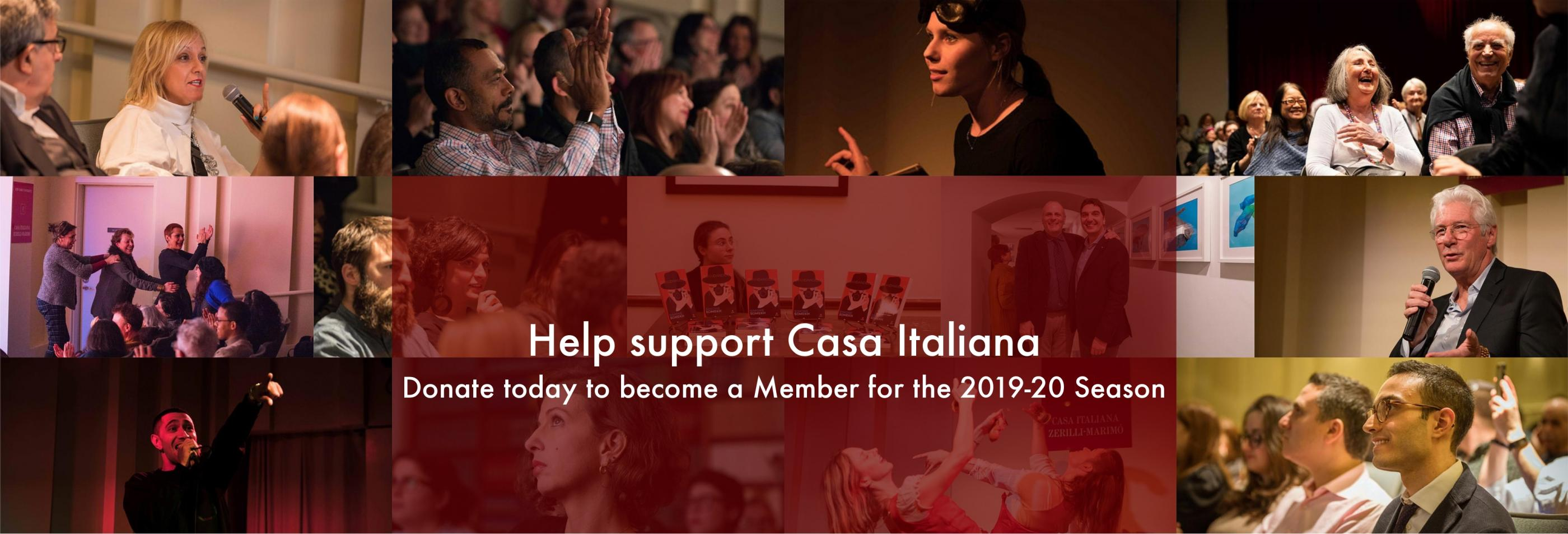 Help Support Casa Italiana and Become a Member for the 2019-20 Season