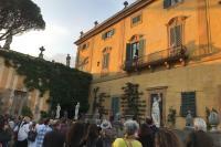 photo from Clorilli performance at Villa La Pietra
