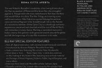 Rome Open City Criterion Back Cover